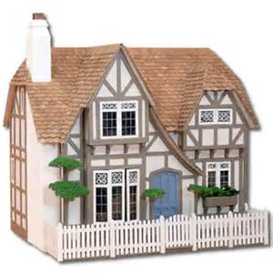 What secrets does the old dollhouse hold? Image courtesy of www.greenleafdollhouses.com